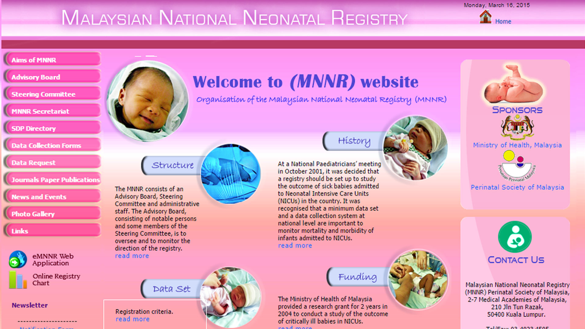 Malaysian National Neonatal Registry (MNRR)